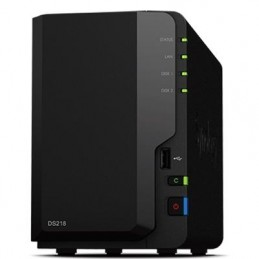 NAS SYNOLOGY DS218 X 2HD...